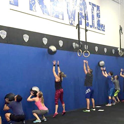 wall ball equipement crossfit