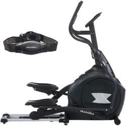velo elliptique professionnel Skandika CardioCross Carbon Pro