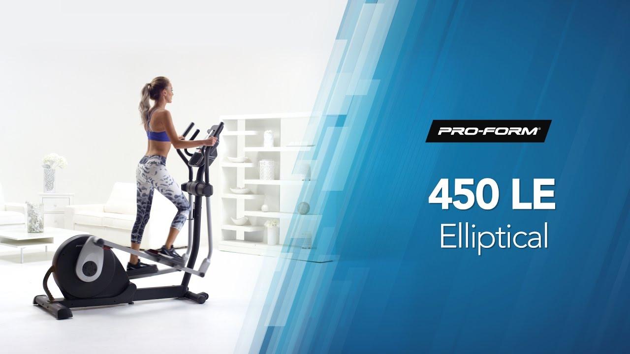 test velo elliptique proform 450 le