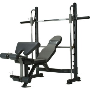 banc de musculation charge guidee