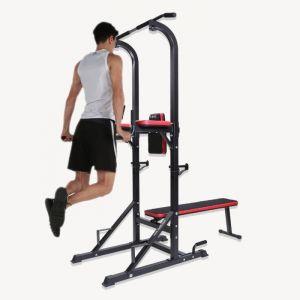 chaise romaine avec banc de musculation
