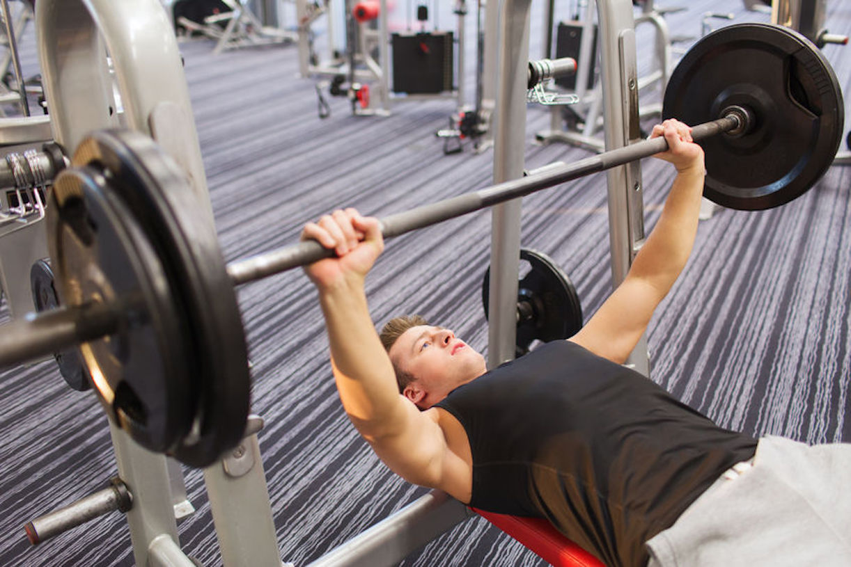 repose barre musculation