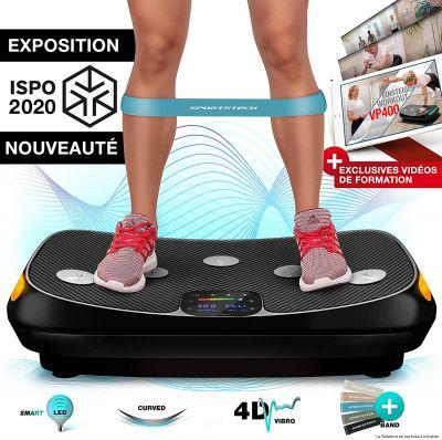plateforme vibrante Sportstech VP400