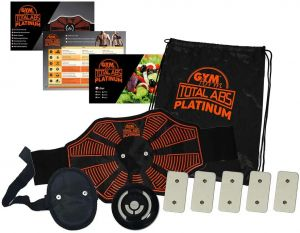 6- Gymform Total ABS Platinium - une ceinture multifonction à prix raisonnable