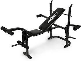 banc de musculation Klarfit Workout Hero Multistation